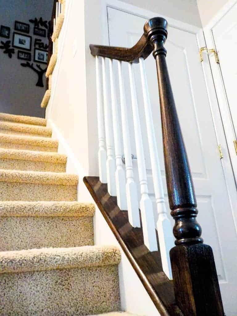 banister railing