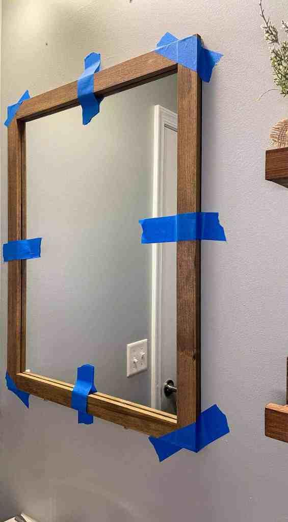 framed bathroom mirrors