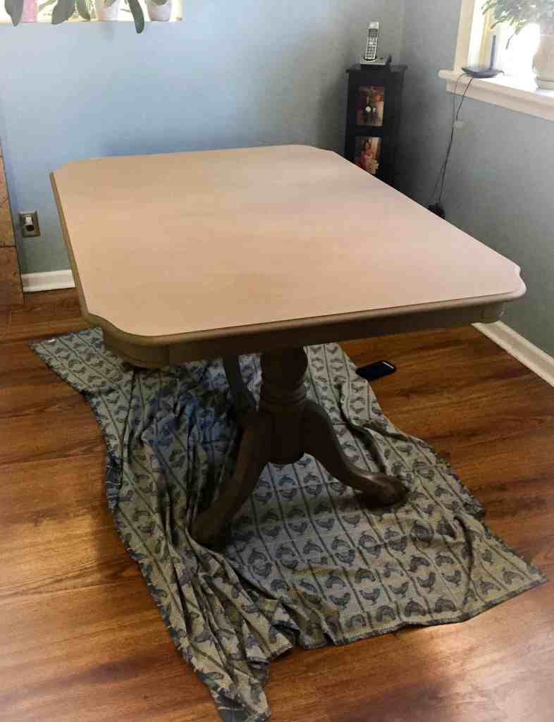 chalk paint dining room tables