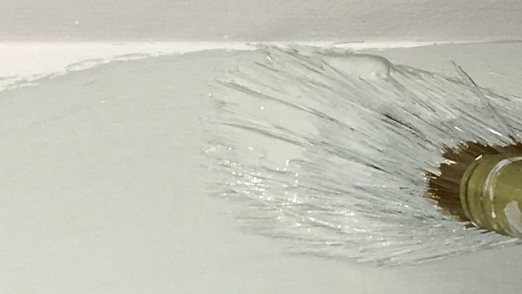 how to paint along ceiling without tape