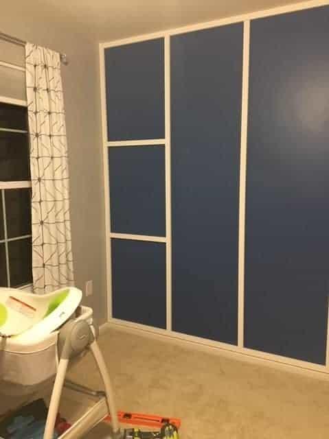 modern accent wall