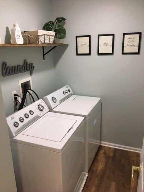 laundry room decor ideas, farmhouse laundry room