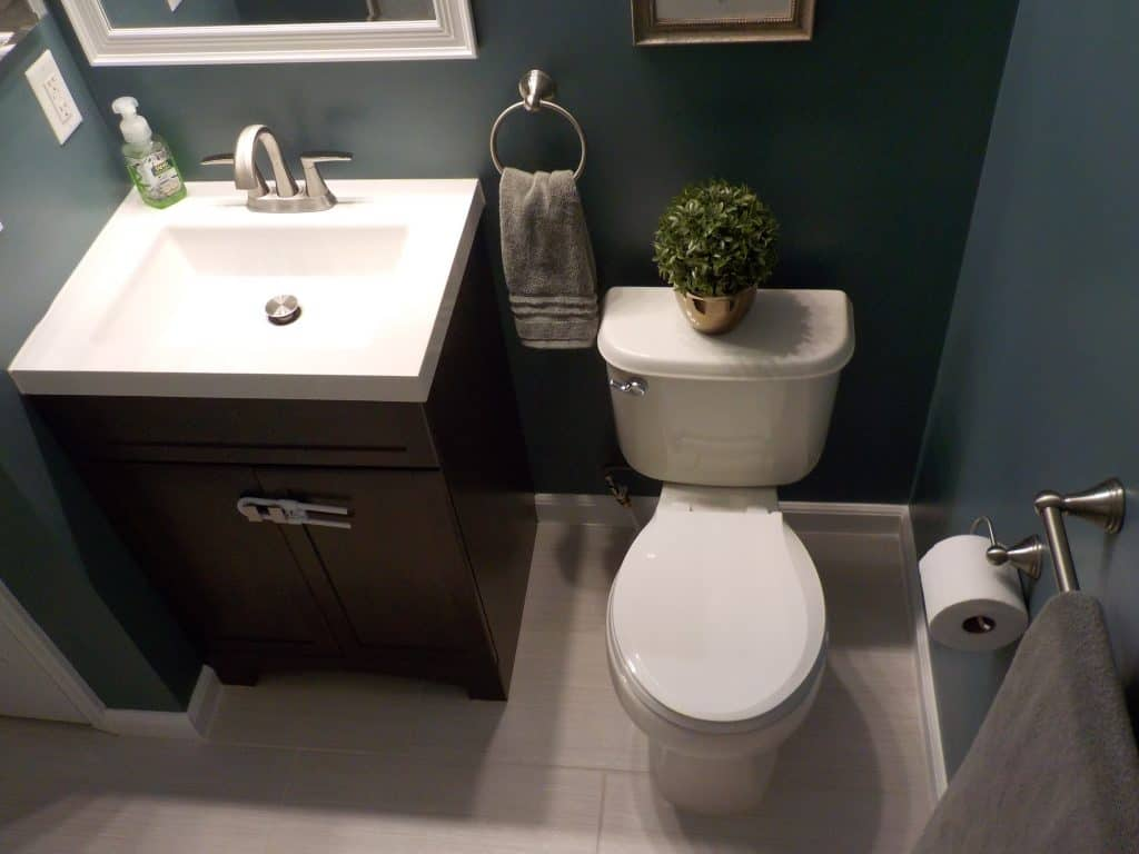 how to install bathroom tile