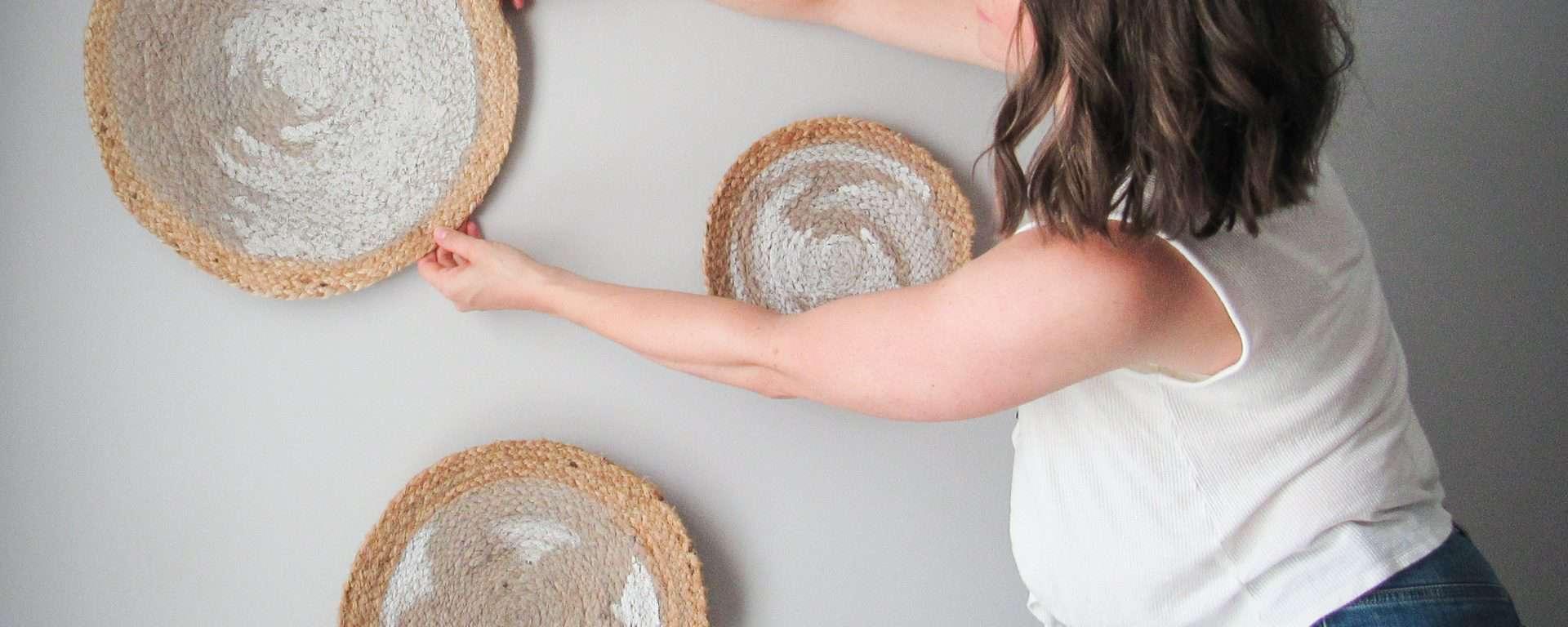 Decorative Baskets using chalk paint