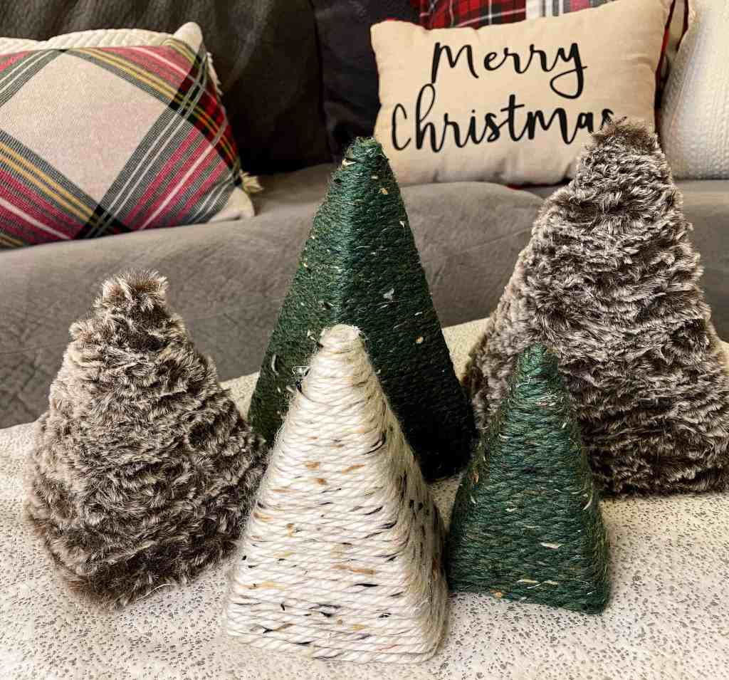 Christmas craft projects, upcycled crafts