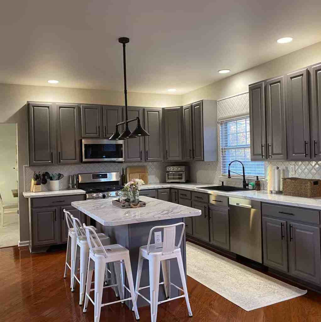 greige agreeable gray Sherwin Williams