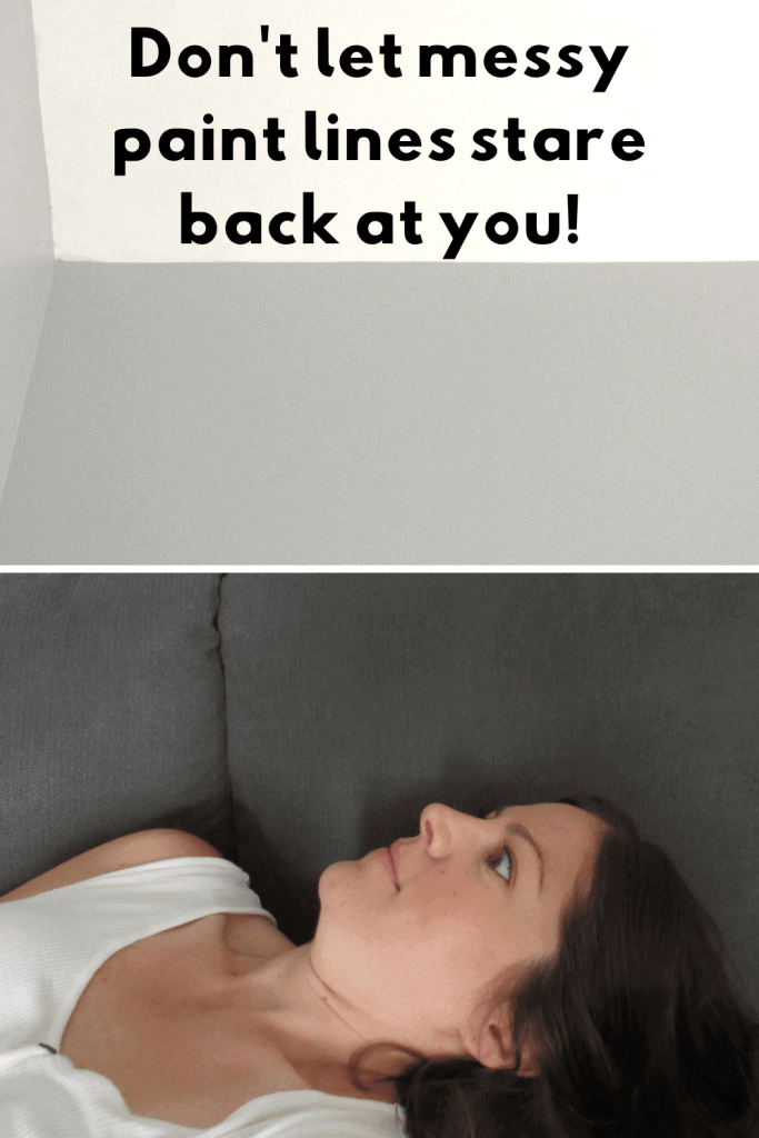 how to paint a room without tape