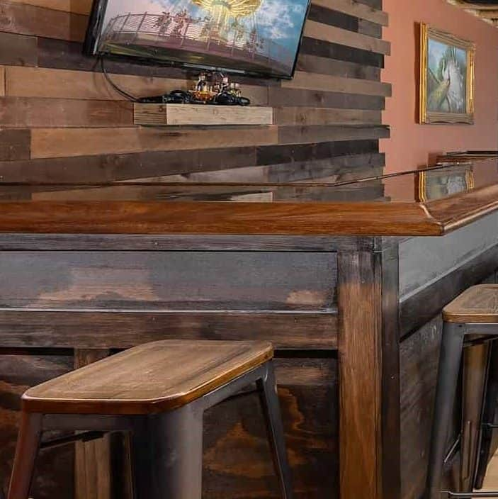 how to build a diy bar
