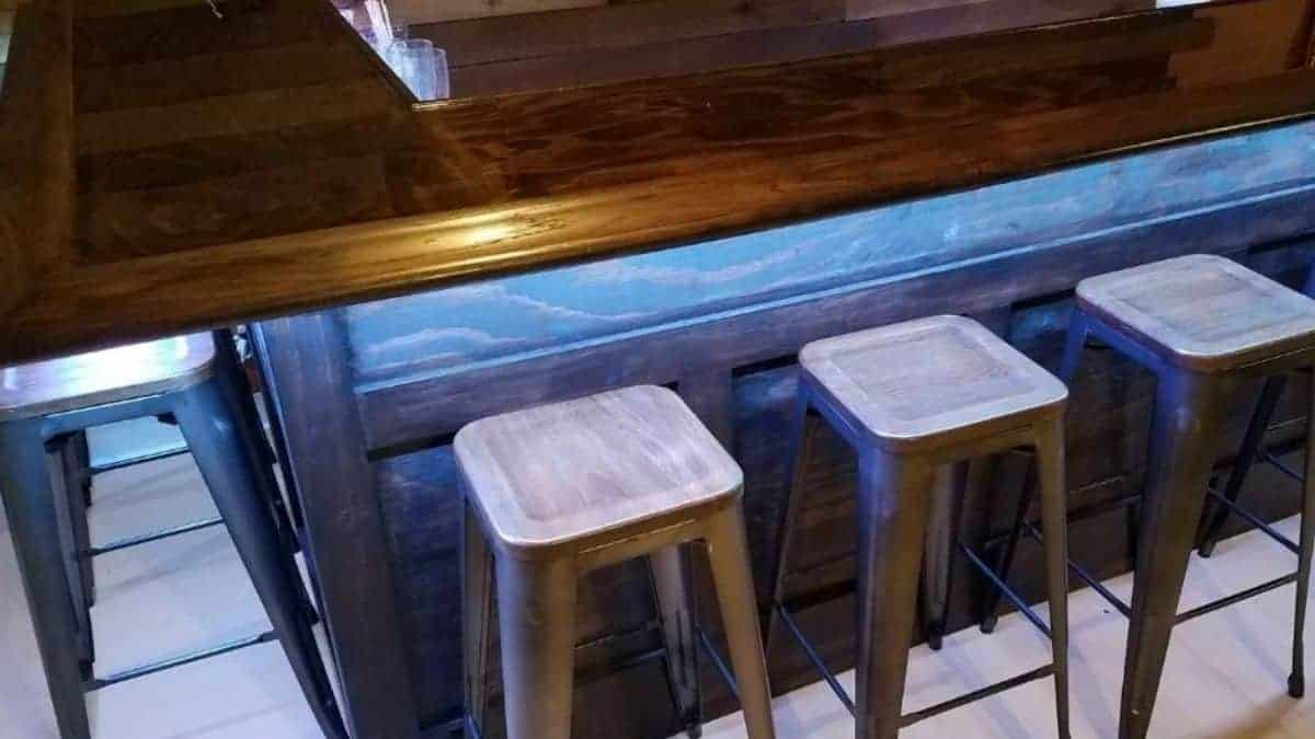 how to build a bar with diy bar plans